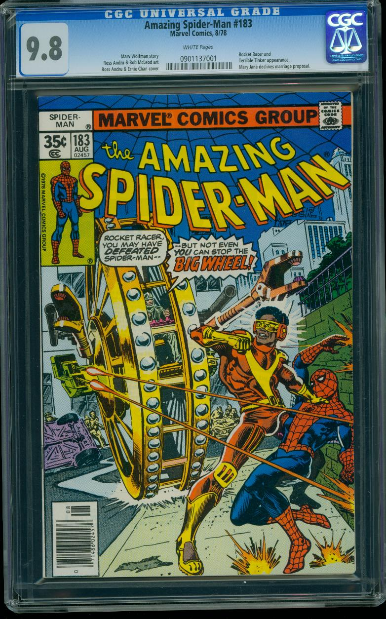 Amazing Spider-man 183 CGC 9.8