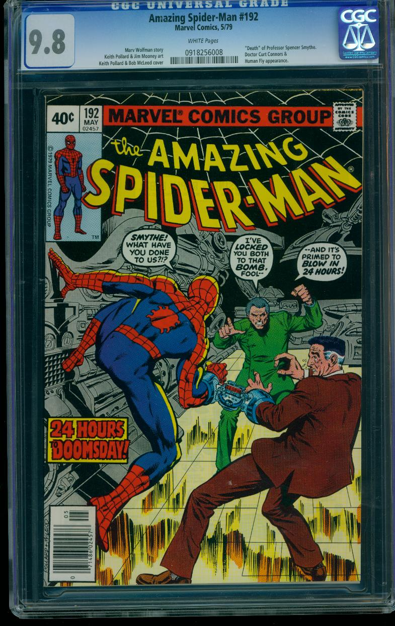 Amazing Spider-man 192 CGC 9.8