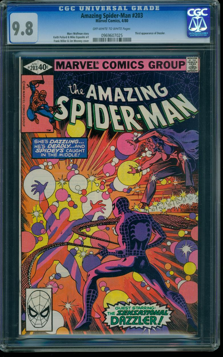 Amazing Spider-man 203 CGC 9.8