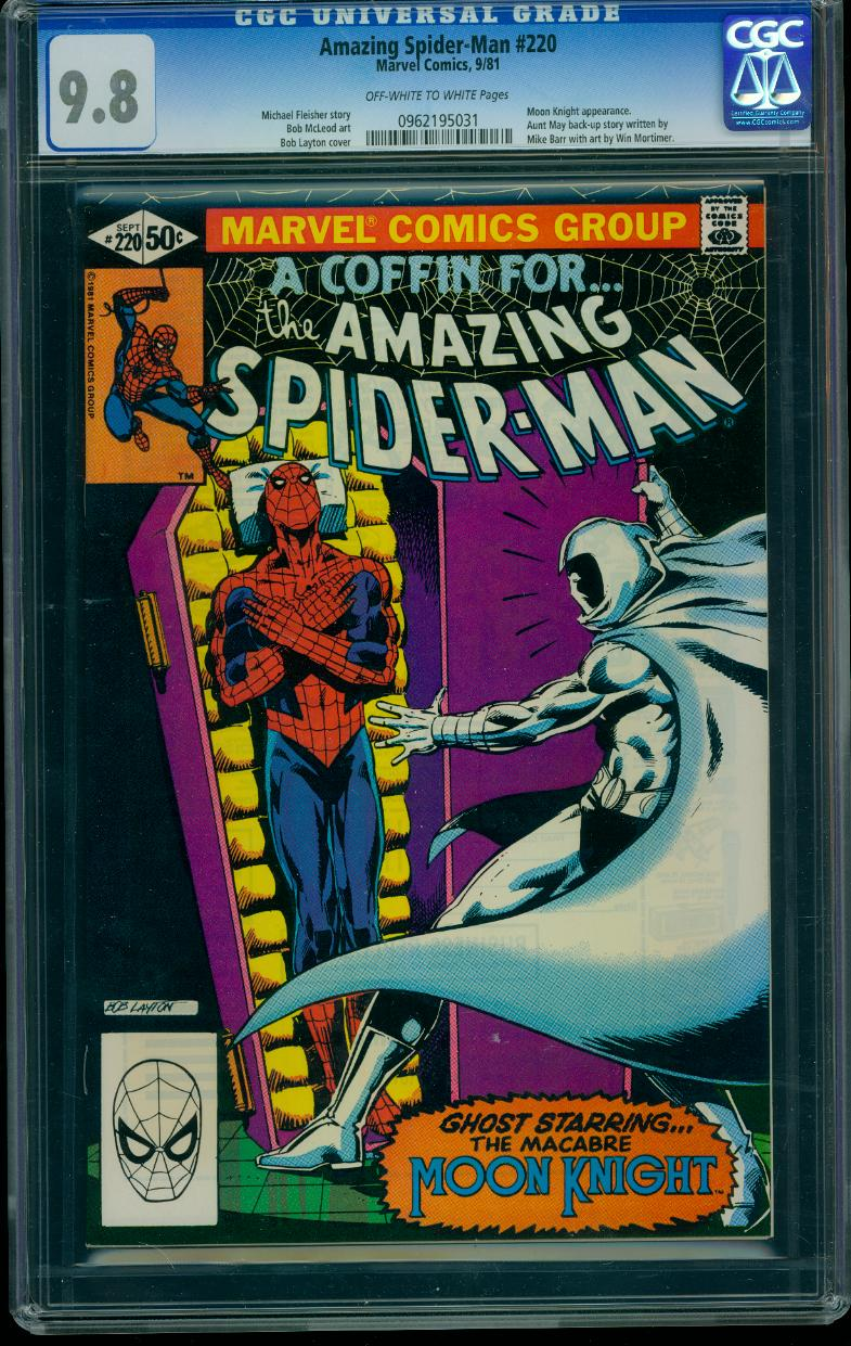 Amazing Spider-man 220 CGC 9.8