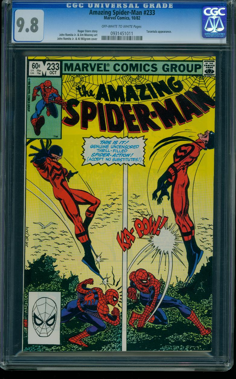 Amazing Spider-man 233 CGC 9.8