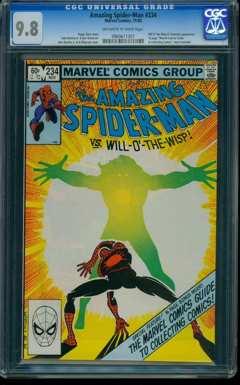 Amazing Spider-man 234 CGC 9.8