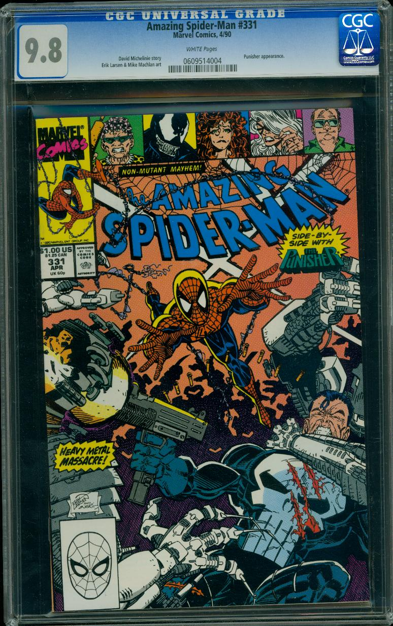 Amazing Spider-man 331 CGC 9.8