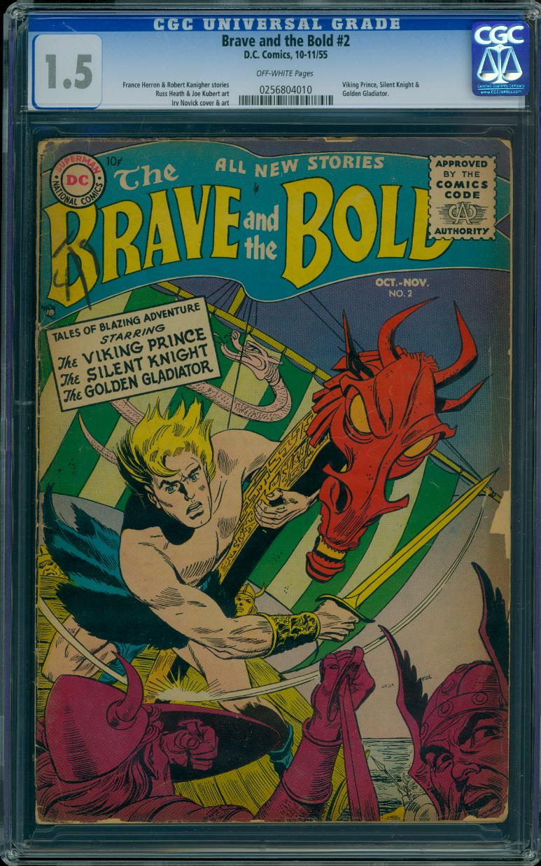 Brave and the Bold 2 CGC 1.5