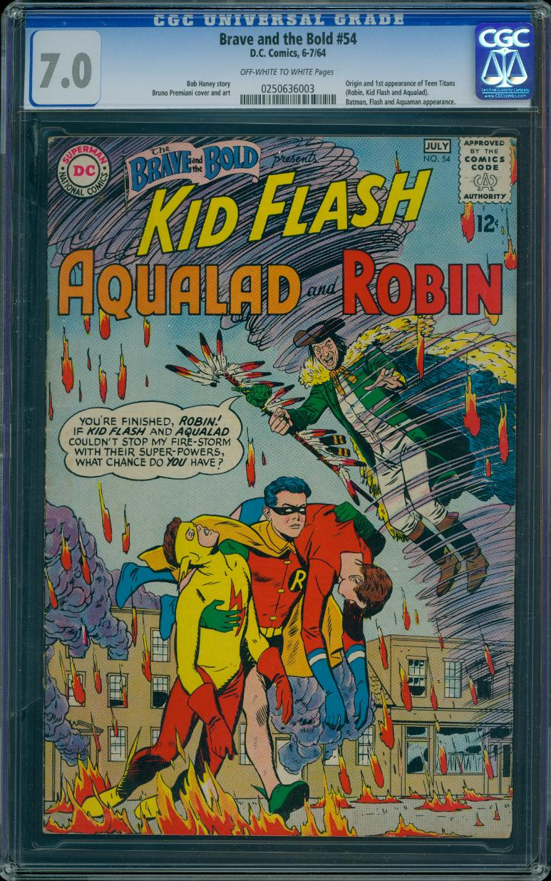 Brave and the Bold 54 CGC 7.0