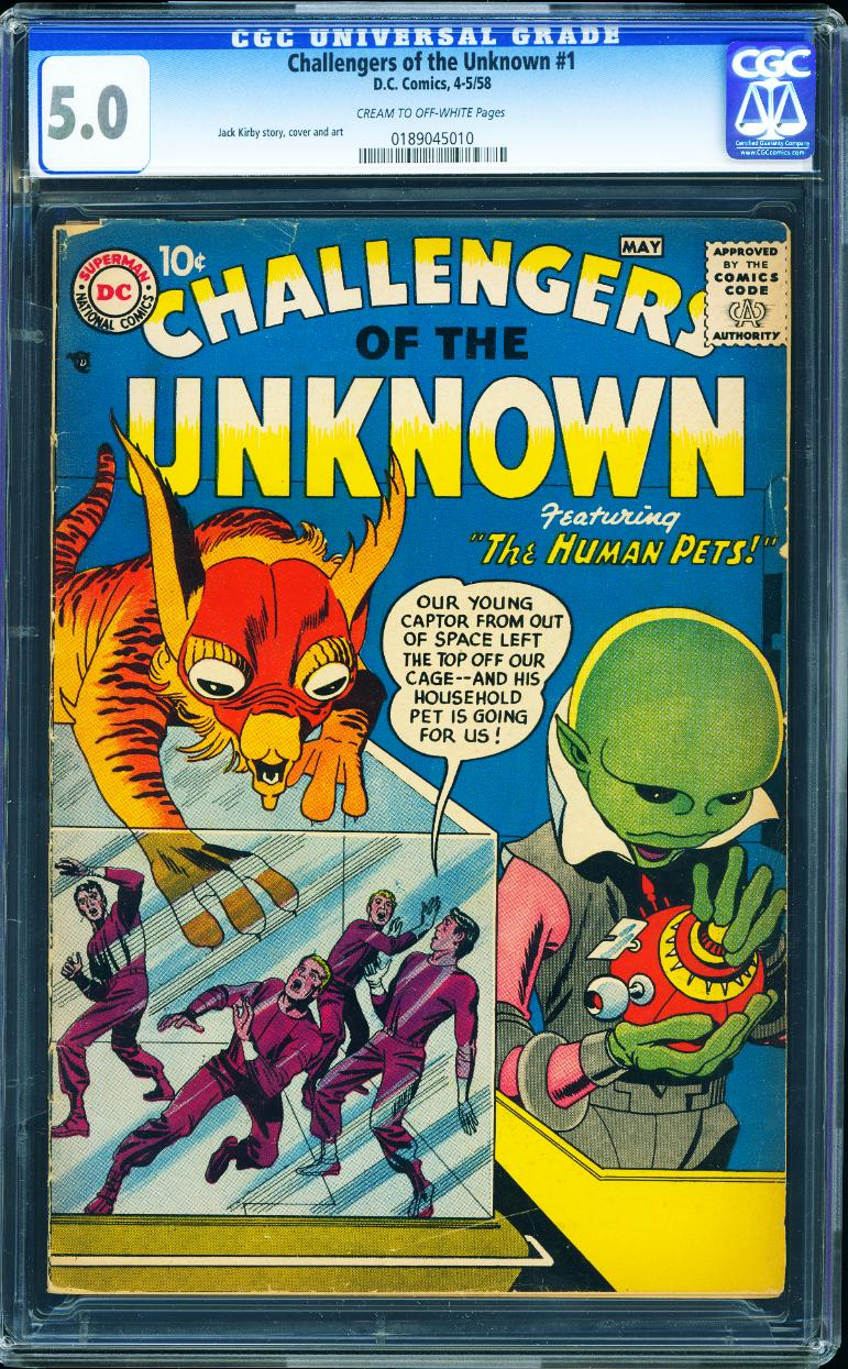 Challengers of the Unknown 1 CGC 5.0