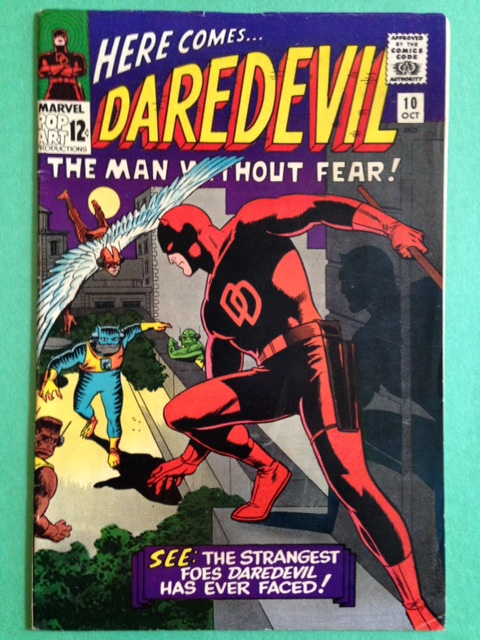 Daredevil 10 Raw 7.5 (VF-)