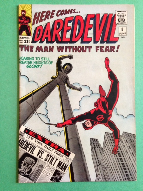 Daredevil 8 Raw 8.0 (VF)