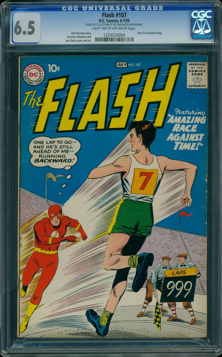 Flash 107 CGC 6.5 Pedigree