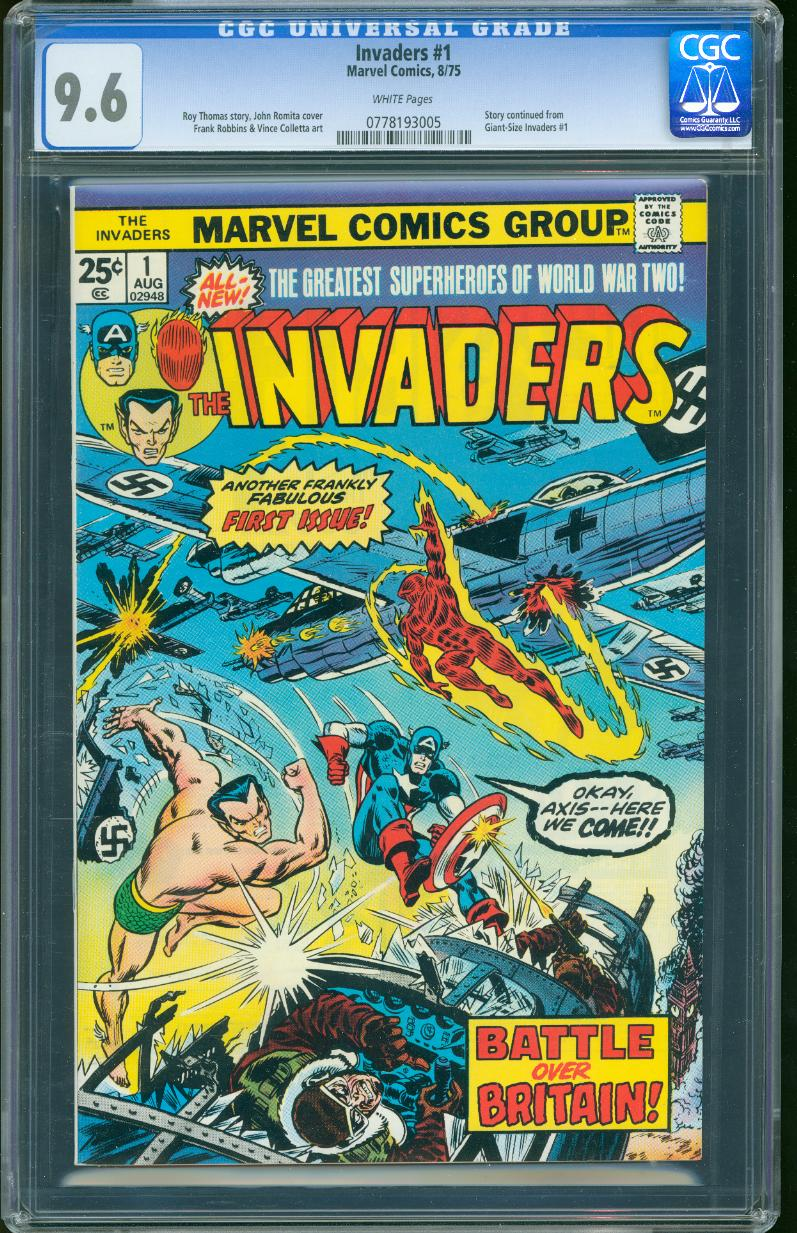 Invaders 1 CGC 9.6