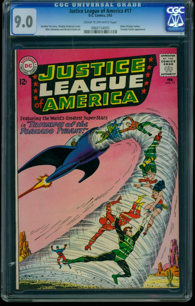 Justice League of America 17 CGC 9.0