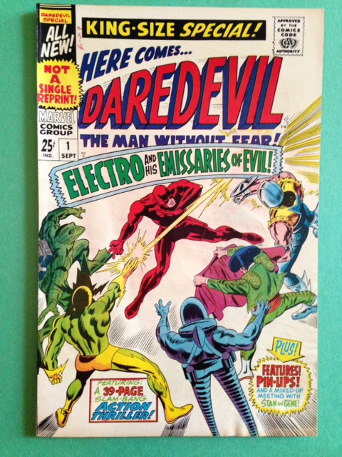 Daredevil Annual / King Size 1 Raw 7.0/7.5 (FVF/VF-)