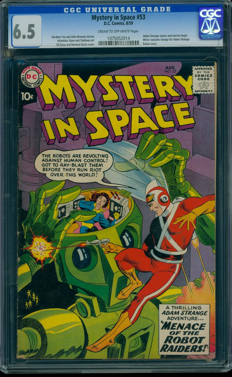 Mystery In Space 53 CGC 6.5