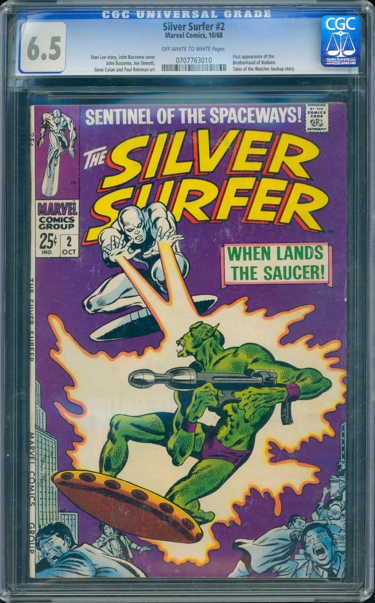 Silver Surfer 2 CGC 6.5
