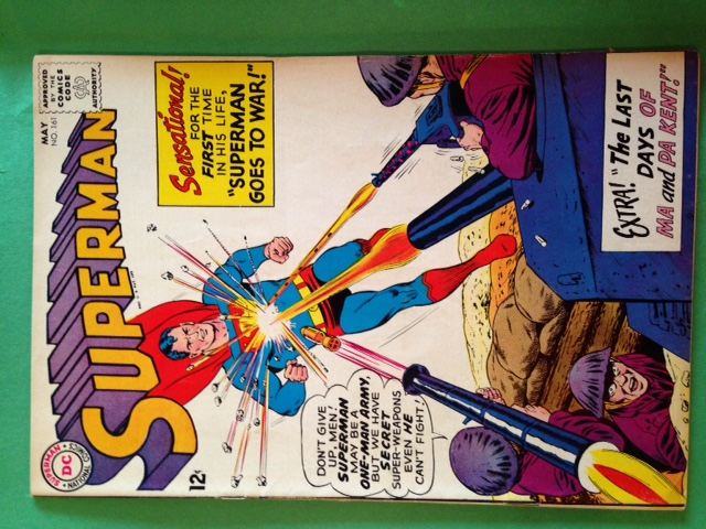 Superman 161 Raw 7.5 (VF-)