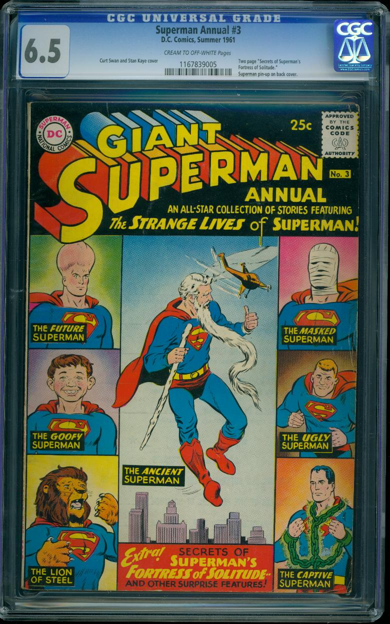 Superman Annual 3 CGC 6.5