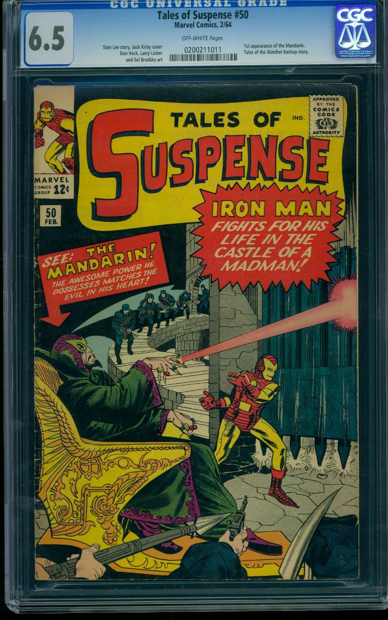 Tales of Suspense 50 CGC 6.5