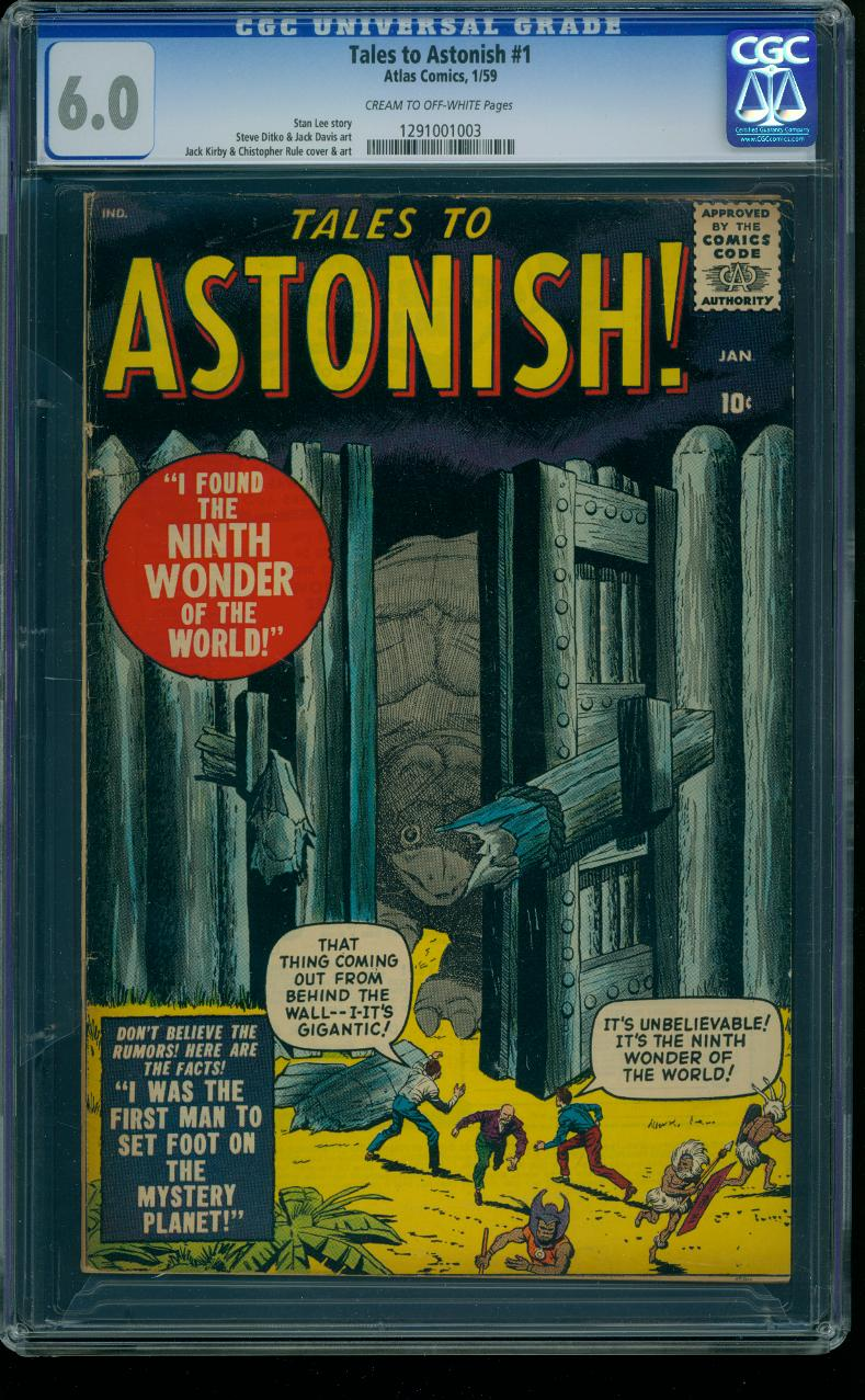 Tales to Astonish 1 CGC 6.0