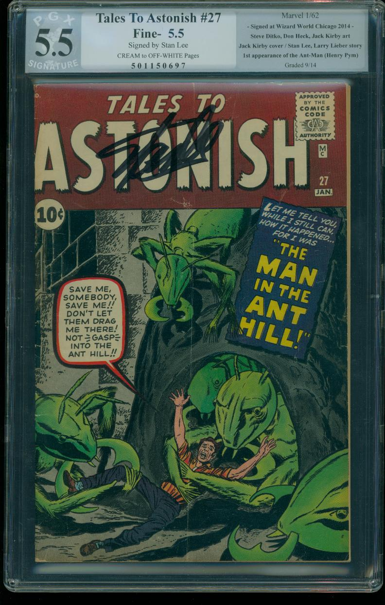 Tales to Astonish 27 PGX 5.5 Signature Series