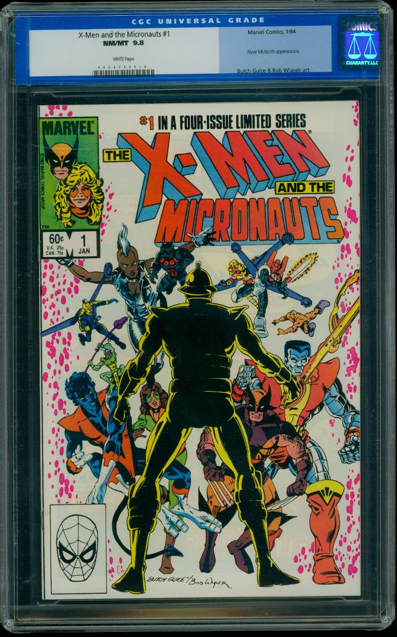 X-men and the Micronauts 1 CGC 9.8